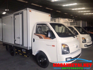 Xe Tải Hyundai H150 Thùng Kín Composit Chở Thuốc