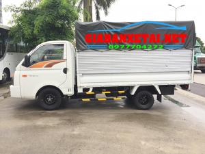 Xe Tải H150 Hyundai Porter Thùng Mui Bạt Trọng Tải 1T4