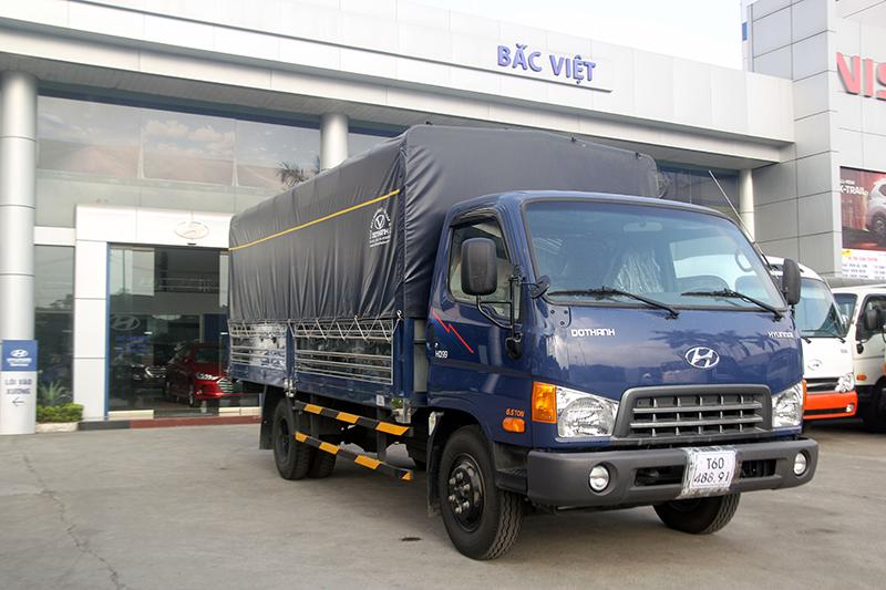 xe tải HD99 thùng mui bạt