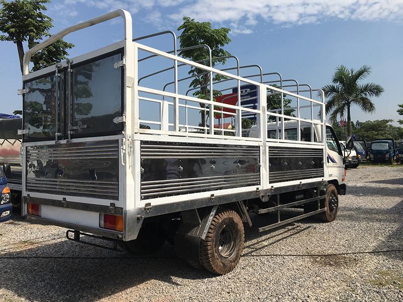 xe tải veam thùng bạt