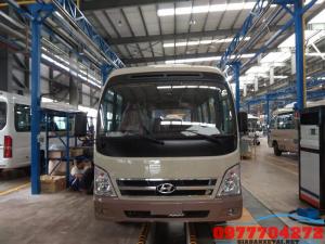 Xe 29 Chỗ Hyundai County SL Thân Dài